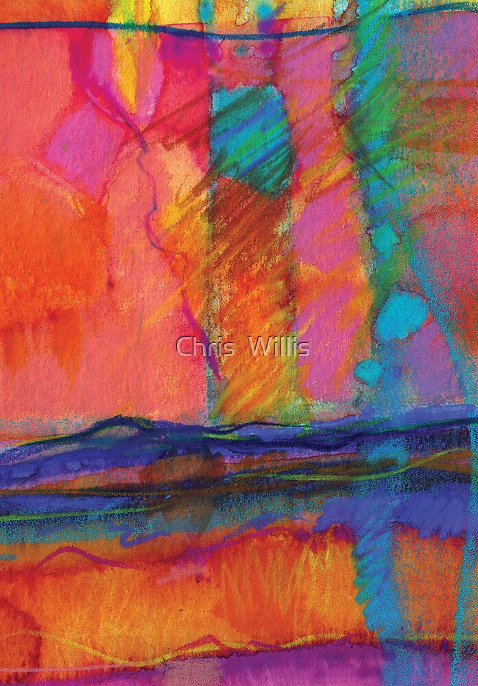 Abstract 3 by Chris  Willis