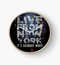 Live From New York, Saturday Night Live Clock