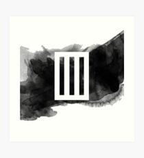 Paramore Bars // Watercolour Art Print