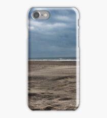 Beach in November iPhone Case/Skin