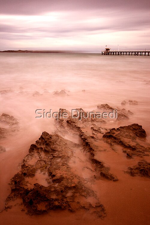 Queenscliff Pier - Color by Sidqie Djunaedi