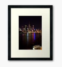 Brisbane City Framed Print