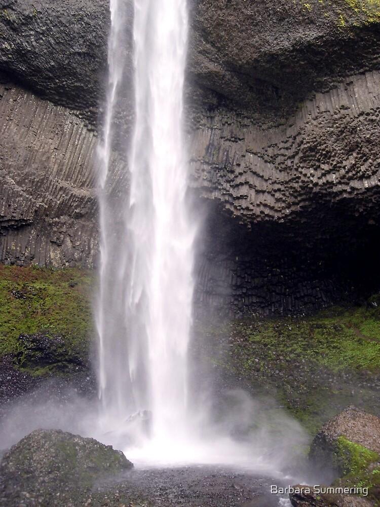 Latourelle Falls- Final Drop by Barbara Summering