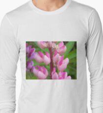 Pink Lupin Long Sleeve T-Shirt