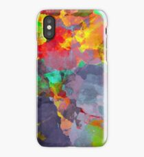 Abstract Paint iPhone Case