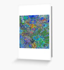 Daisy Fantaisy ~ Distracted Abtract Greeting Card