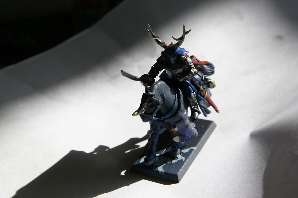 Chosen Knight of Tzeentch by cheezhankrn