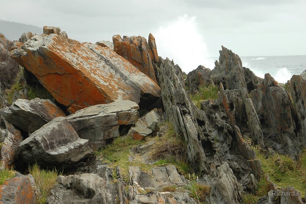 Storms Bay rocks by Richard3