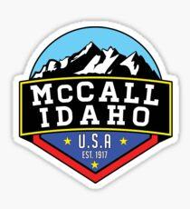 SKI MCCALL IDAHO SKIING MOUNTAINS SNOWBOARD HIKING Sticker