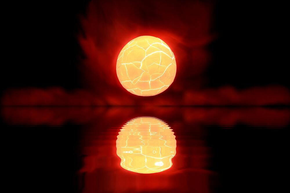 Cosmic Sunset by ligek