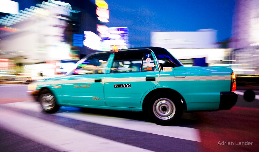 TokyoTaxi by Adrian Lander