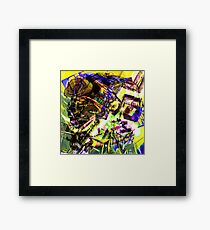 The most entertaining of the surfaces of this earth is for me the face humain.il does not know how to lie Framed Print