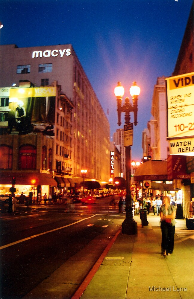 City Lights by Michael Lane
