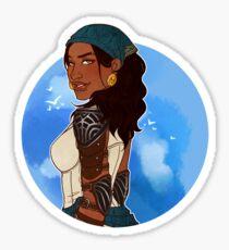Queen of the Eastern Seas Sticker