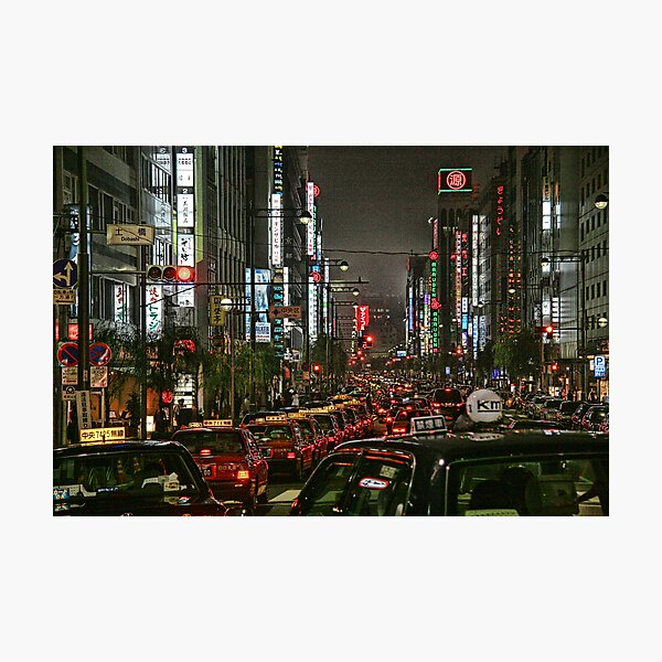Tokyo Taxis Photographic Print