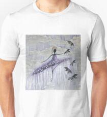 DANCER AND DRAGONFLIES 13 Unisex T-Shirt
