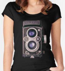 Rolleiflex Skin Women's Fitted Scoop T-Shirt