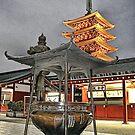 Tokyo - Sensoji Temple Asakusa by sparrowhawk