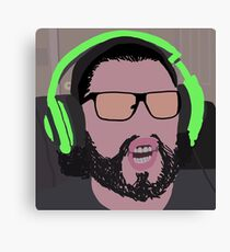 "James ""UberHaxorNova"" CowChop Fan Art Canvas Print"