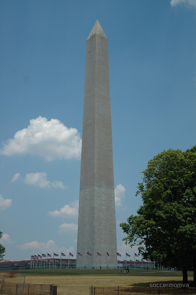 Washington Monument by soccermomva