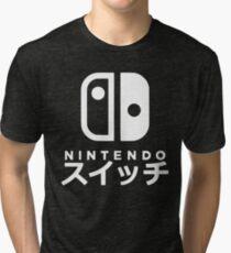 Nintendo Switch Japanese Tri-blend T-Shirt