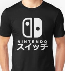 Nintendo Switch Japanisch Slim Fit T-Shirt