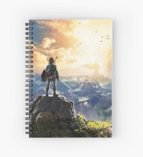 Legend of Zelda Breath of the Wild! Spiral Notebook