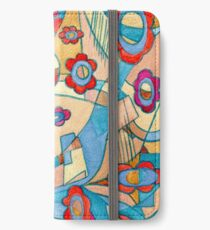 Abstraction painting iPhone Wallet/Case/Skin