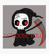 Grim Reaper Chooses You Photographic Print