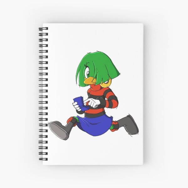 Tekno the Canary Spiral Notebook