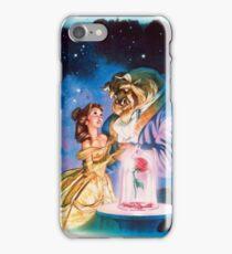 la bella y la bestia iPhone Case/Skin