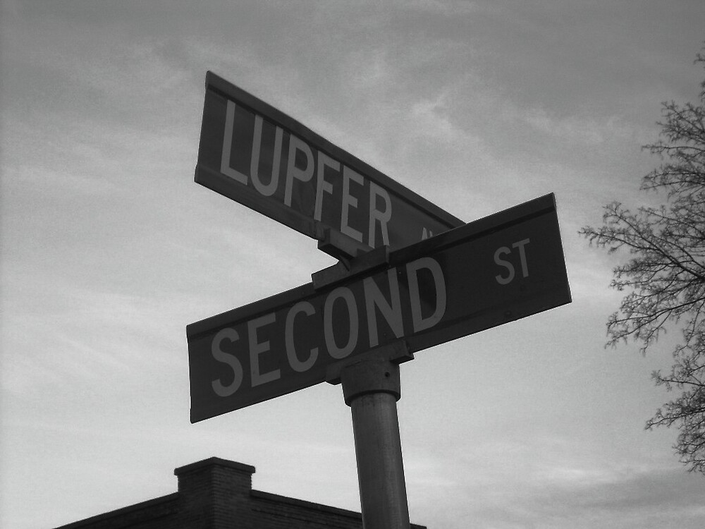street sign by Jaclyn Clemens