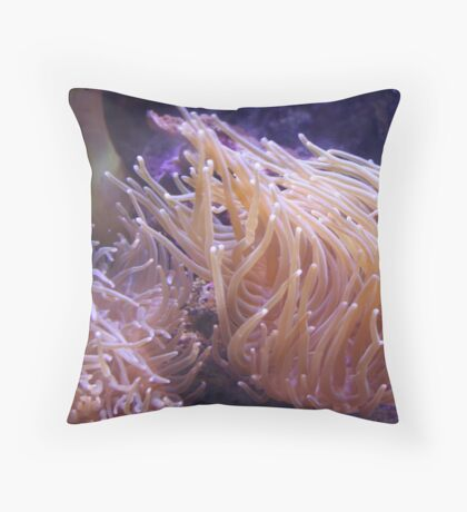 Anemone II Throw Pillow
