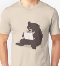Blogger Bear Unisex T-Shirt