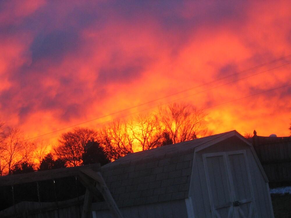 Sky On Fire by RachelLea