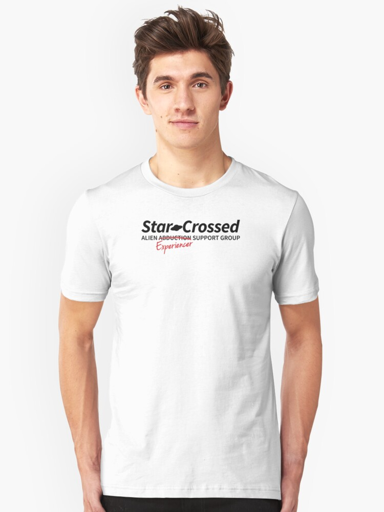 Star-Crossed Support Group Unisex T-Shirt Front