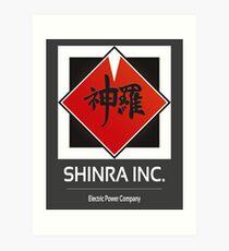 Shinra Inc. Art Print