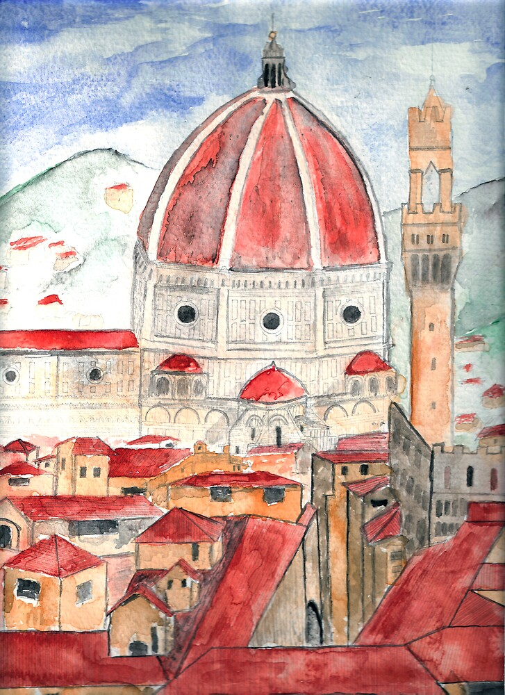 Florence Italy by derekmccrea
