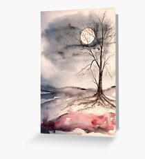 Moon Light Greeting Card