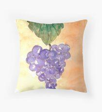 Wild Grapes Throw Pillow
