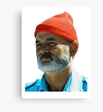 Steve Zissou - Bill Murray  Canvas Print
