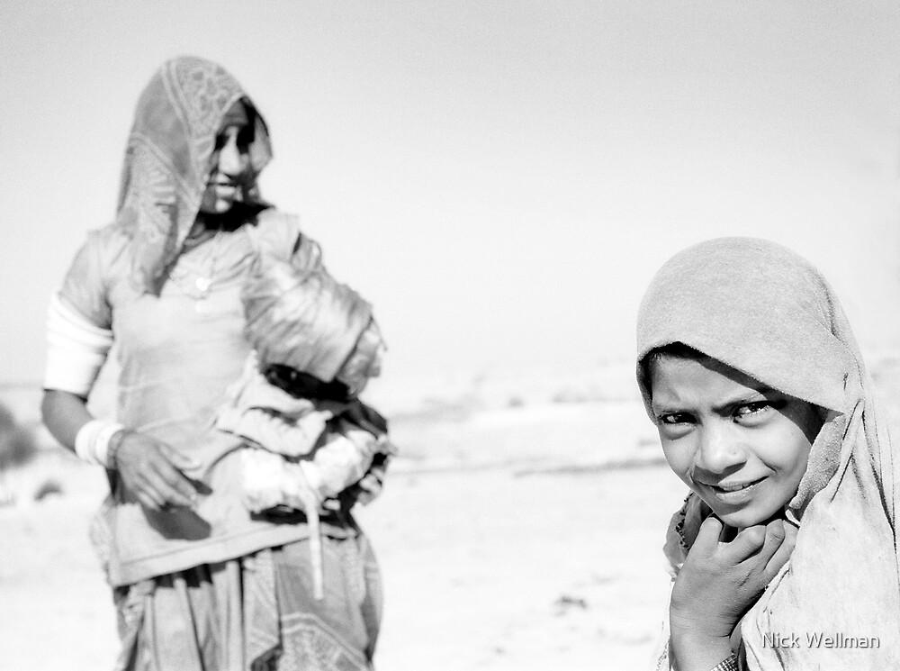 Jaisalmer Girl by wellman