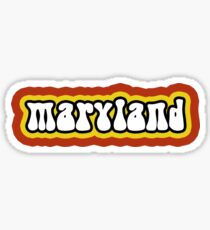 University of Maryland Sticker
