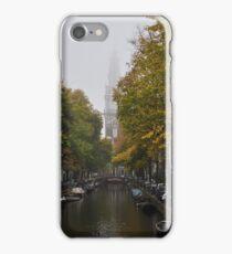 Zuiderkerk on a foggy day iPhone Case/Skin