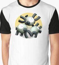 082 - Shiny Magnet Monster Graphic T-Shirt
