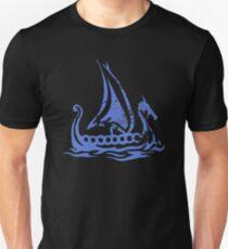 Blue Dragon Longboat Unisex T-Shirt