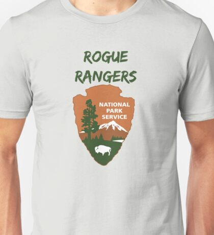 Rogue National Park Service Unisex T-Shirt
