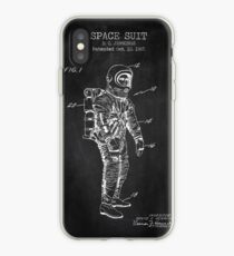 Space Suit Chalkboard iPhone Case