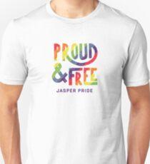 Rainbow Maple Leaf Unisex T-Shirt