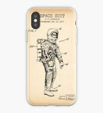 Space Suit Vintage iPhone Case